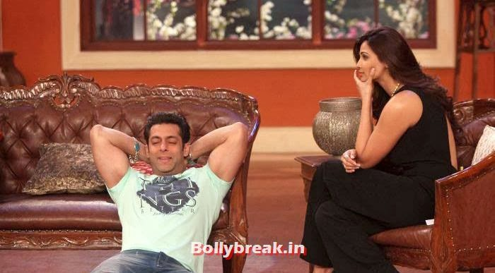 Salman Khan, Daisy Shah, Salman Khan & Daisy Shah on Comedy Nights with Kapil