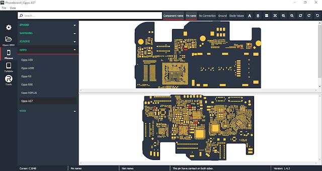 Phoneboard V1.4.3 – Phần Mềm Xem Sơ Đồ Mạch Miễn Phí
