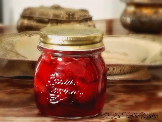 confettura di fragole col metodo Ferber