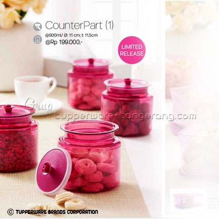 Counter Part ~ Katalog Tupperware Promo Juni 2016