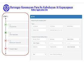 fill up the online scholarship application form