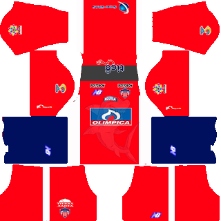 Dream League Soccer Kits Colo Colo 16 17 DLS16 FTS By