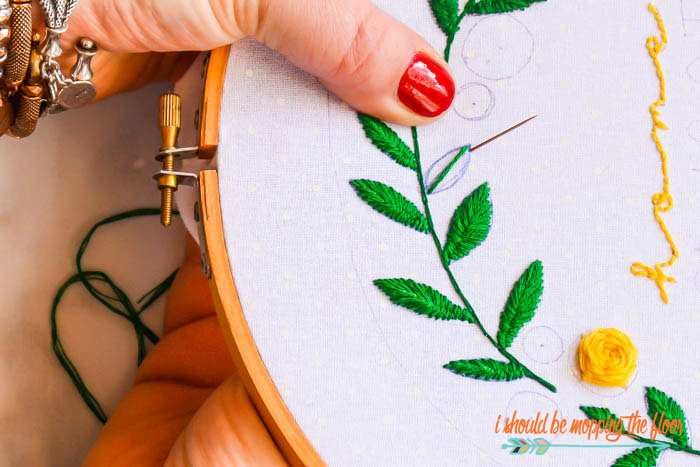 Embroidery Basics and Stitches