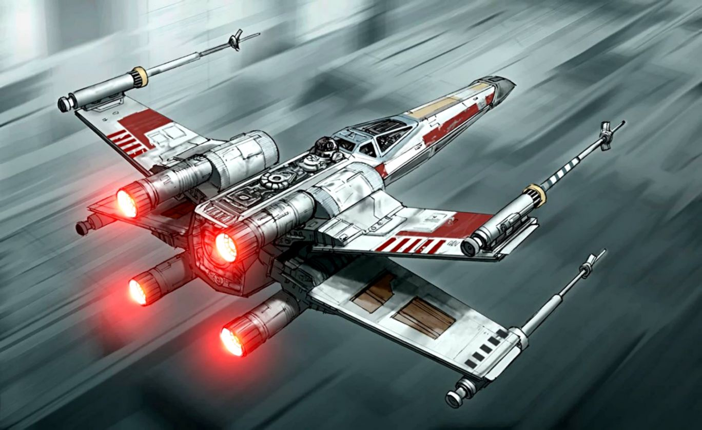X Wing Star Wars Wallpaper Safari Wallpapers