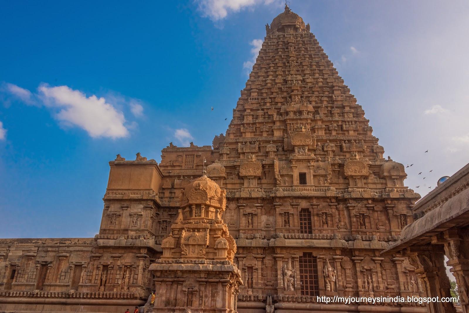 Thanjavur Brihadeeswarar Temple Tower