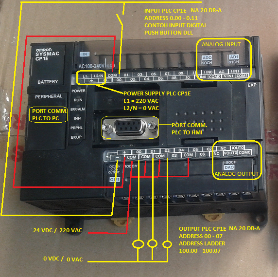how to connect omron km-n2 to computer