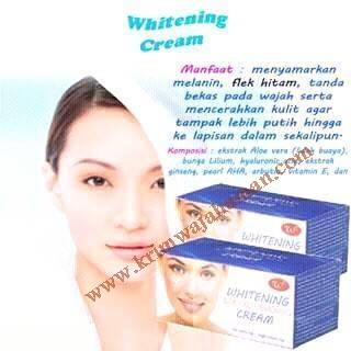 Whitening Woo Tekh Cream Untuk Memutihkan Kulit Wajah