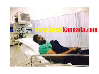 Dhruva Sarja hospitalized