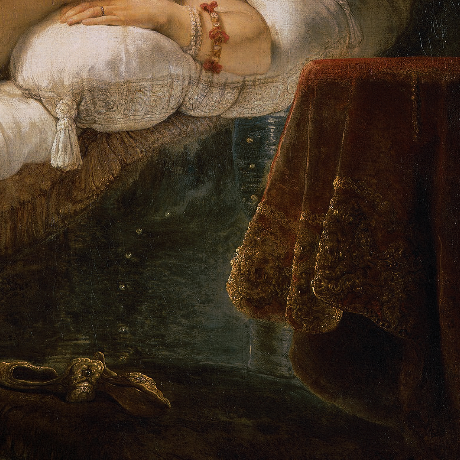 Rembrandt | Danaë, 1636 | Art in Detail | Tutt'Art ...