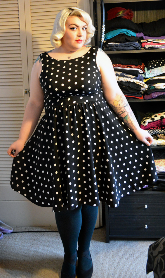 Petrified In Polka Dots (My First Outfit Post)