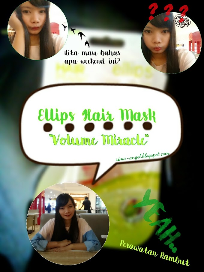 Review Ellips Hair Mask Volume Miracle