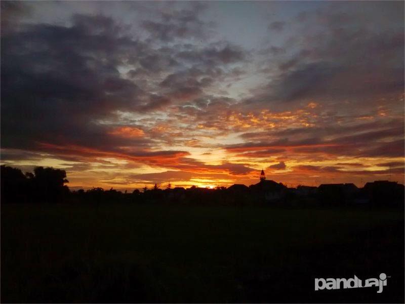 Sunset dengan Motorola Moto G