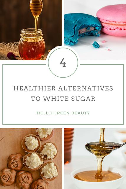 4 Healthier Alternatives to Refined White Sugar