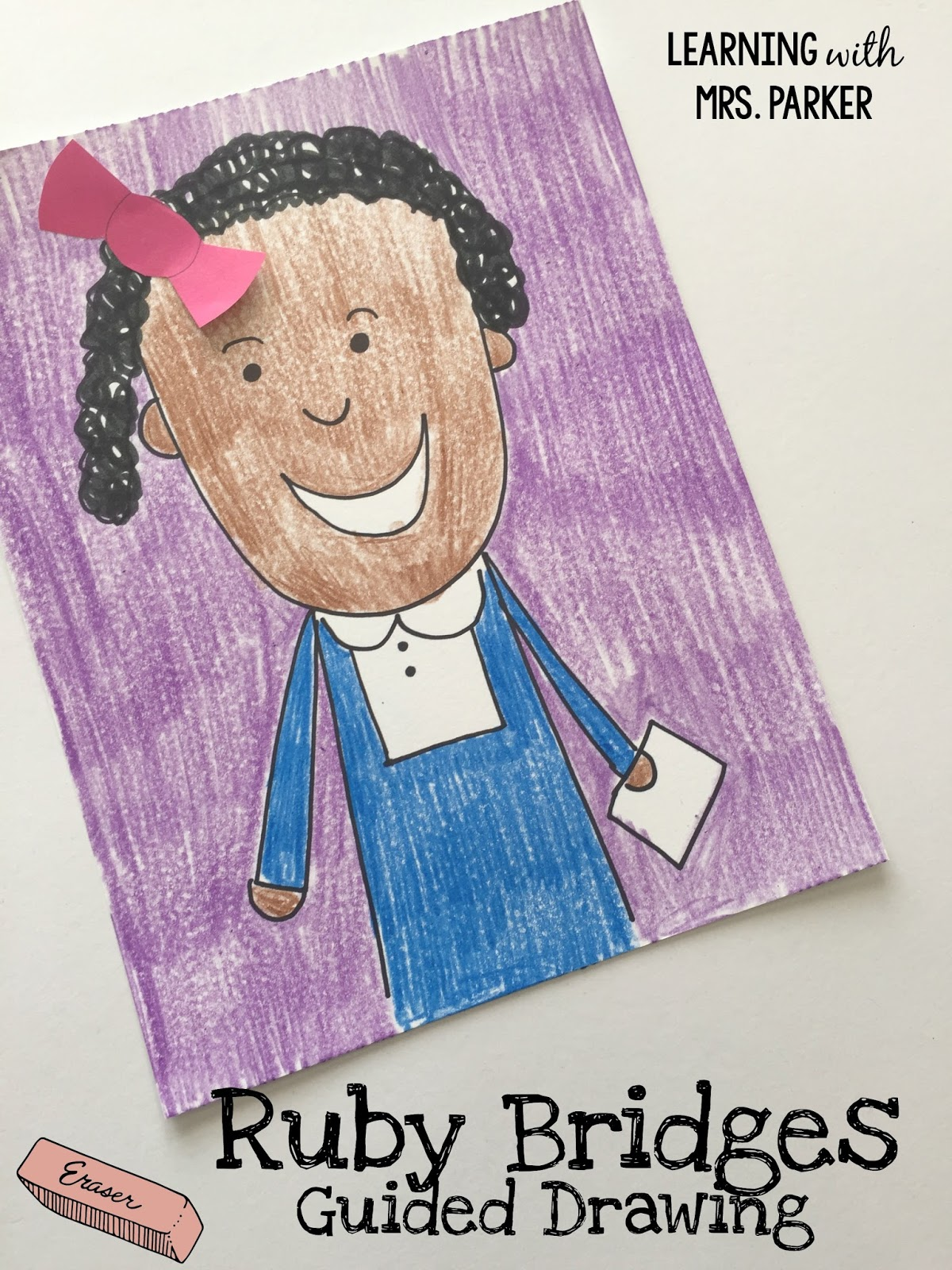 Guided Drawing Of Ruby Bridges Plus A Technology Twist