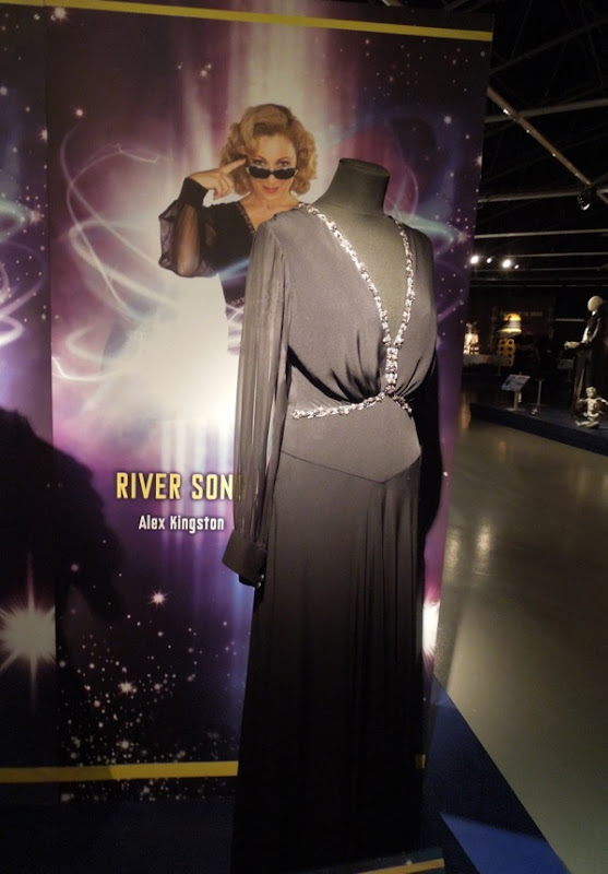 River Song Time of Angels Doctor Who gown
