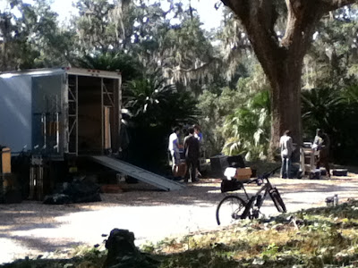 Movie making Goodwood Museum Tallahassee Florida