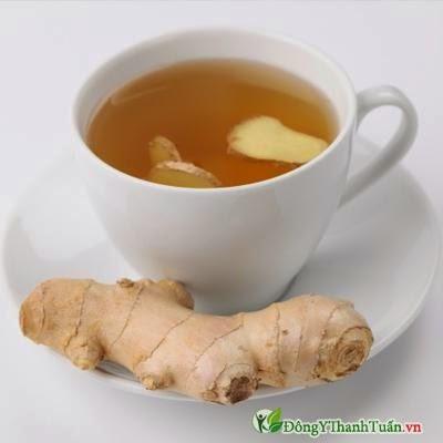 Cách giảm đau dạ dày nhanh chóng bằng trà gừng