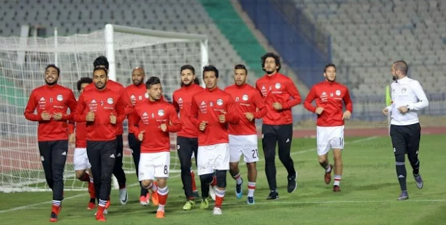 لاعبي منتخب مصر في روسيا