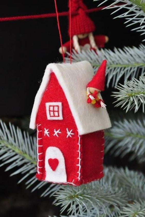 50+ Χριστουγεννιάτικες κατασκευές με Τσόχα
