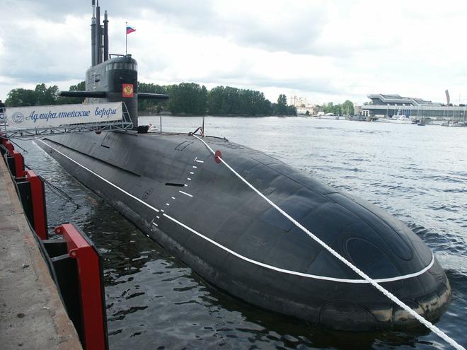 Tàu ngầm thuộc đề án 677 lớp Lada của Hải quân Nga.