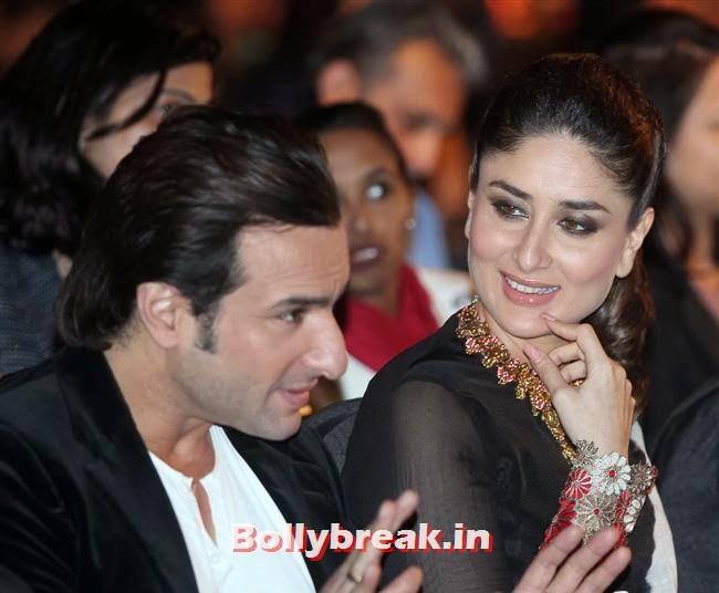 Saif Ali Khan and Kareena Kapoor, Kareena Kapoor at IIFA 2014 Press Conference