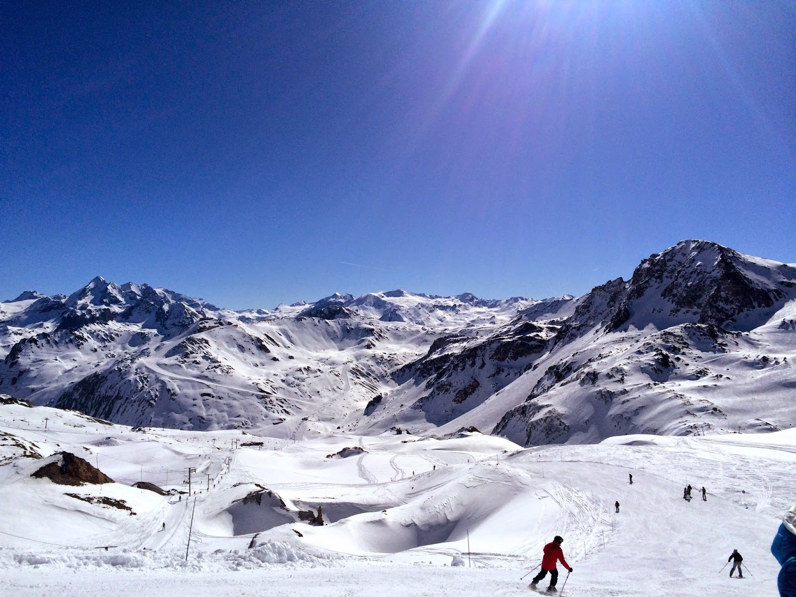 Sun, Snow and Skiing