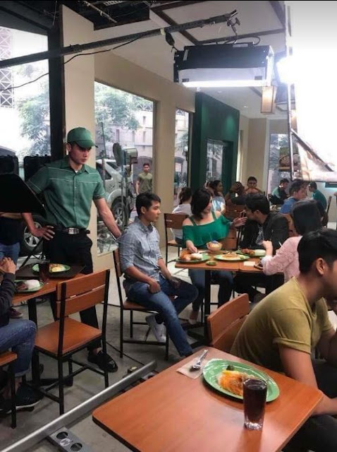 IN PHOTOS: Angel Locsin and Coco Martin In Mang Inasal's TV Commercial's Behind The Scenes