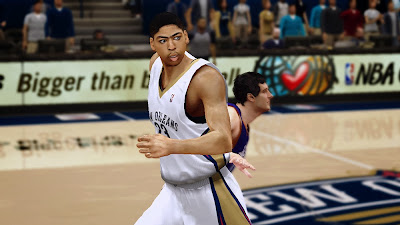 NBA 2K14 Anthony Davis Cyberface Mod