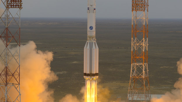 ESA Sends ExoMars to Space to Solve Red Planet's Mysteries