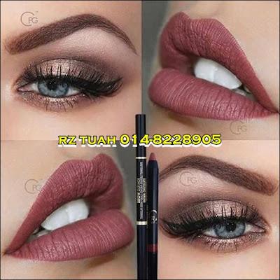 cpg cik puan gojes lipstick matte eyebrow