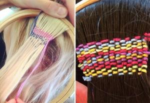 Modelos tapeçaria nos cabelos