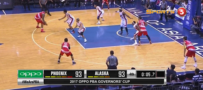 Phoenix def. Alaska, 95-93 (REPLAY VIDEO) July 22