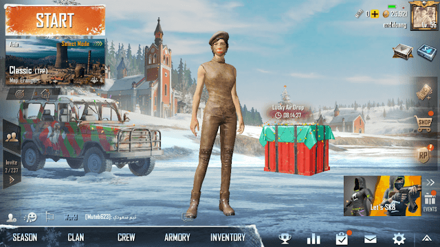 How to Change the Character of PUBG Mobile with an Active Display
