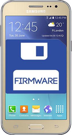 Firmware yang akan dipakai pada langkah ini yakni Firmware Samsung  Galaxy J Nih Firmware Samsung Galaxy J2 Lengkap Semua Model
