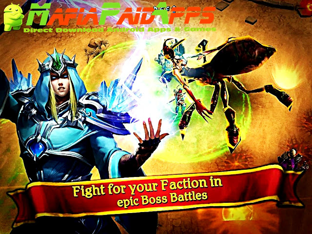 Clash for Dawn: Guild War Apk MafiaPaidApps ScreenShot