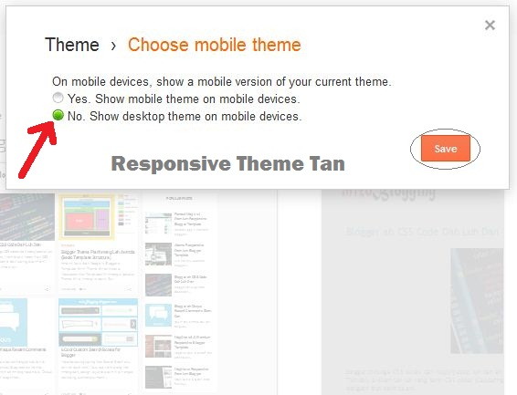 blogger theme responsive tan
