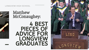 The four most important pieces of advice actor Matthew McConaughey gave Longview High School graduates