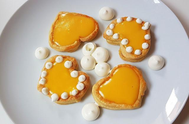 Tartaletas rápidas para san valentin
