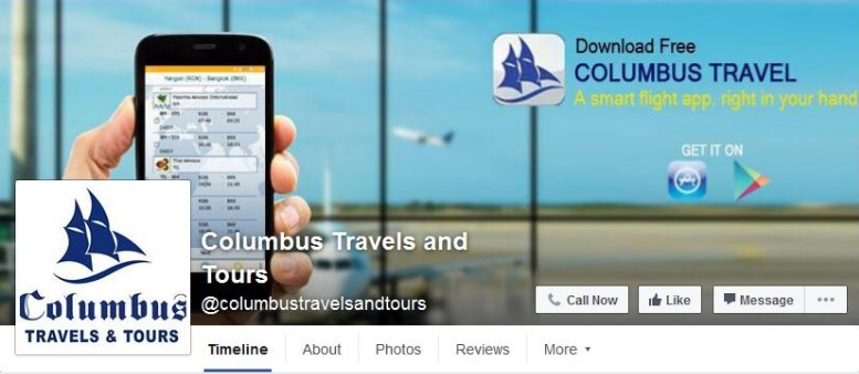 Columbus tours and travels business