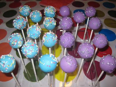 miss golosinas cake pops parade amarena schokolade rum kokos und vanille milka. Black Bedroom Furniture Sets. Home Design Ideas