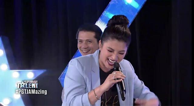 "Angel Locsin Sings 'Humanap Ka Ng Pangit"" In PGT Jamazing Segment!"