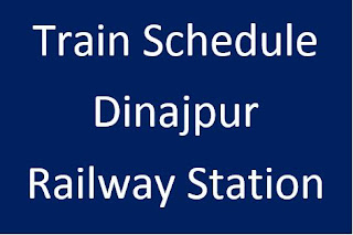 dinajpur railway station train schedule