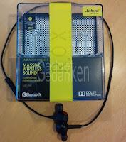 Jabra Rox Wireless Bluetooth Kopfhörer mit Verpackung