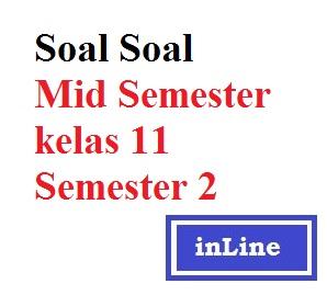 Soal Mid Semester Kelas 11 Semester 2 Belajar Ekonomi