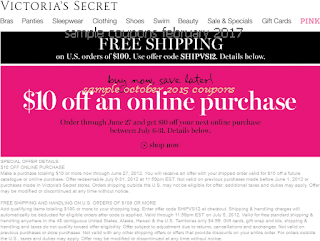 Victoria's Secret coupons for february 2017