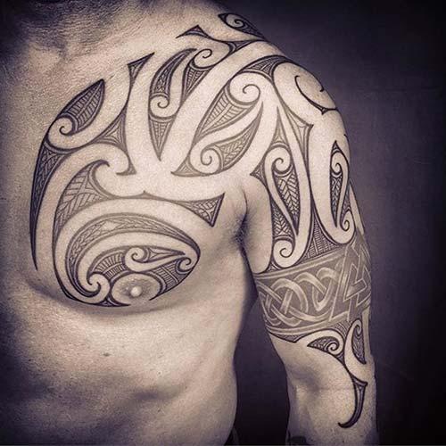 erkek tribal dövmeler man tribal tattoos 35