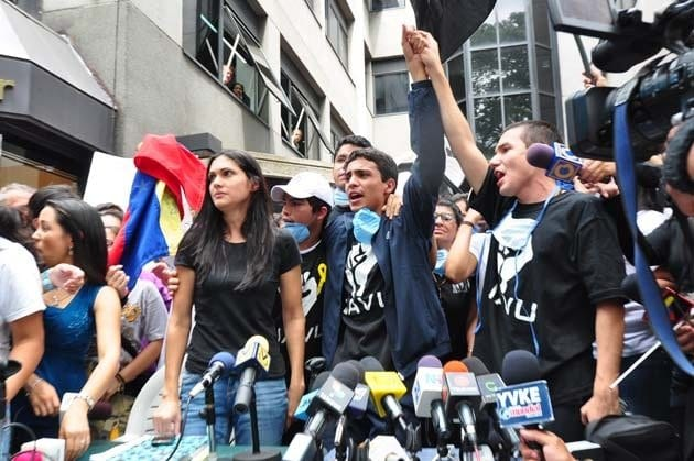 Liberan a Lorent Saleh, emblemático preso político del régimen venezolano