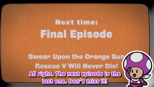 Paper Mario Color Splash Rescue V Final Episode teaser