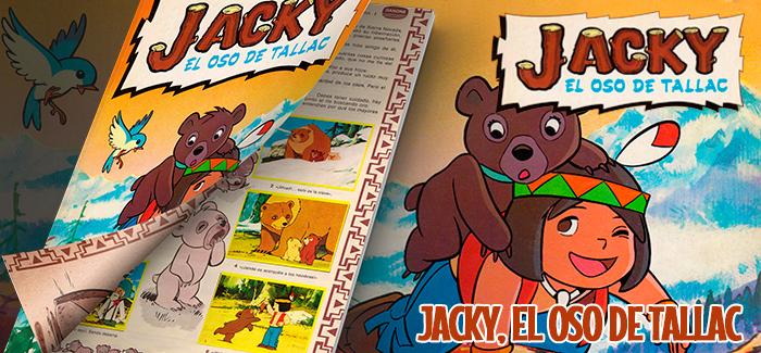 Álbum Jacky, el oso de Tallac