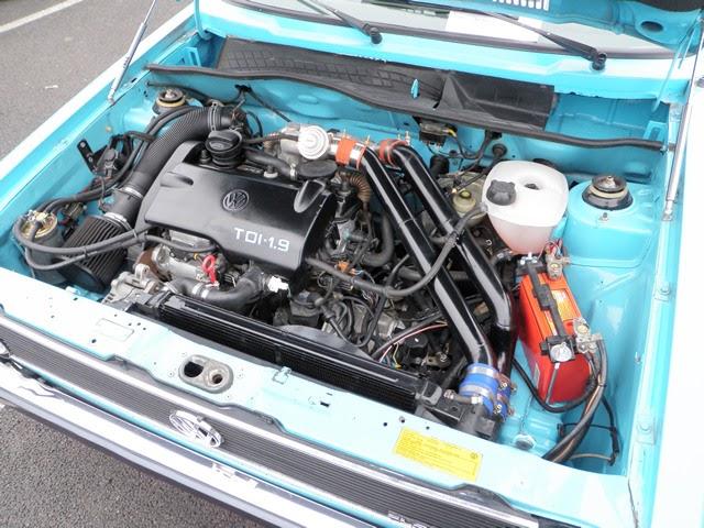 engine conversions 1 9 tdi powered mk1 golf the car hobby. Black Bedroom Furniture Sets. Home Design Ideas